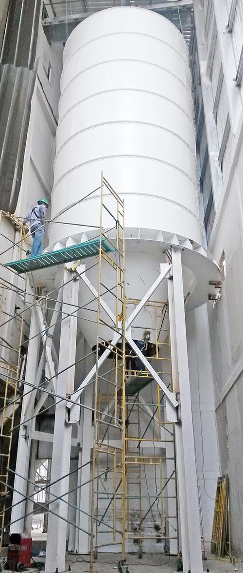 Silo-de-base-metalica